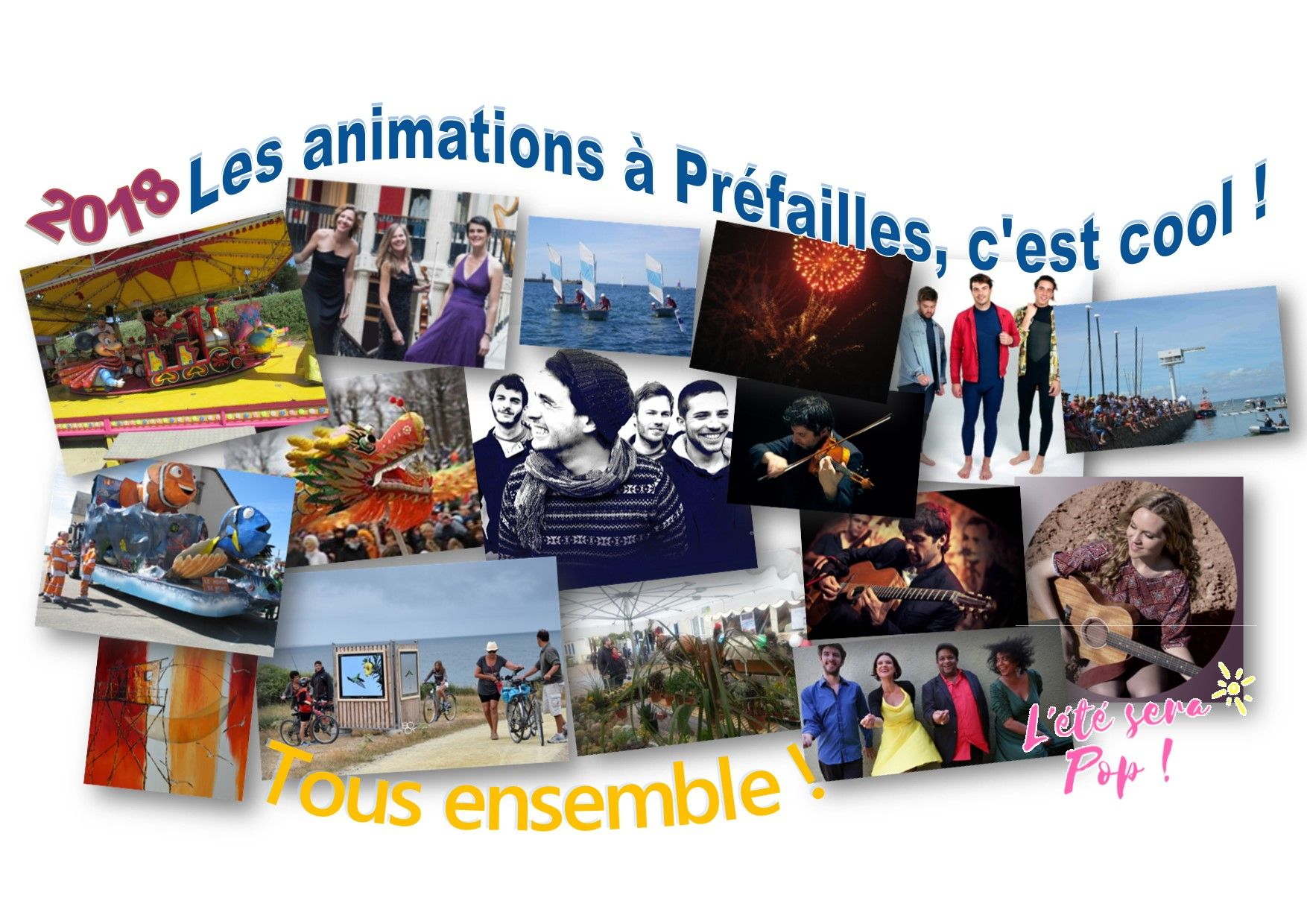 Diapositive des animations 2018