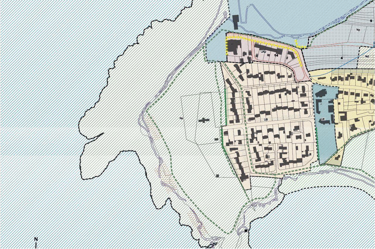 Linéaires commerciaux de la Pointe Saint Gildas